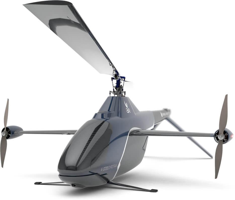 Gyrotrak UAV Technology Autorotation